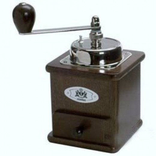 The Zassenhaus is a highly rated product constructed from top quality hardwood.  The burr-style mill is a precision grinder mechanism machined from high-carbon, hardened tool steel.