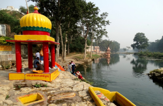 Janki Kund - a serene place where Sita Devi used to bath in the river Mandakini