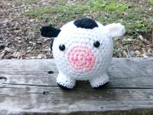 Holstein Cow in Plush