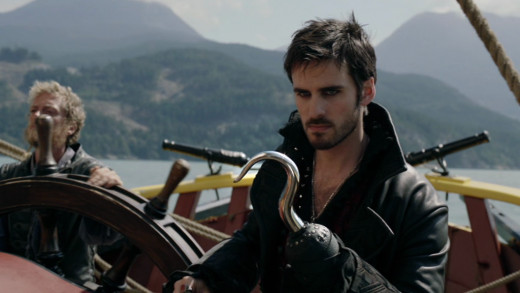Captain Hook, who is one of the most popular characters on the show.