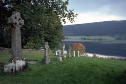 A Hillside Cemetery