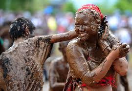 "Girls will love the ""Woman Mud Princess Game."""