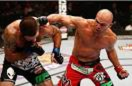 Hendricks vs Lawler fight at UFC 171