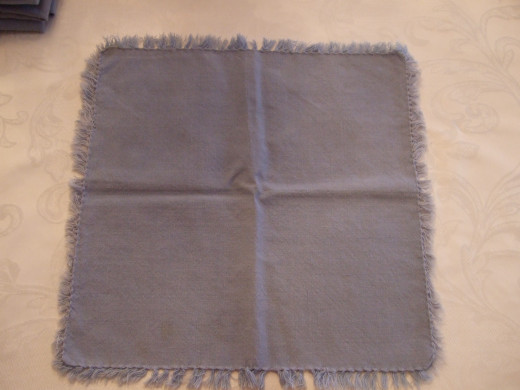 Blue Cloth Napkins or Place Mats