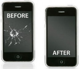 Repairing damaged and unresponsive iPod touch screen