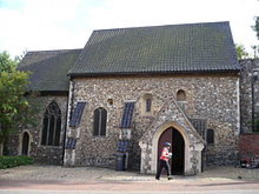 Church of St Julian in Norwich