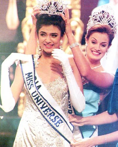 Sushmita Sen at 1994 Miss Universe