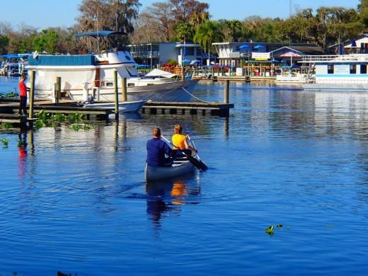 Canoeing Around the Island