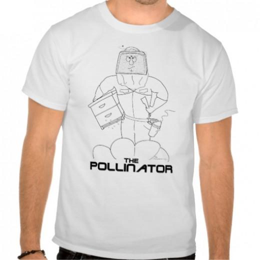 """The Pollinator"" beekeeper's t-shirt"