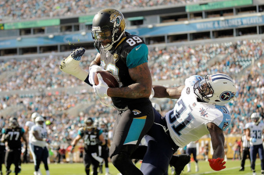 The key to this game may be TE Marcedes Lewis (#89)