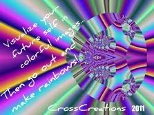 Go make rainbows of creativity!