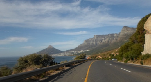 From Llandudno to Camps Bay - View on the Twelve Apostles, Cape Town, South Africa