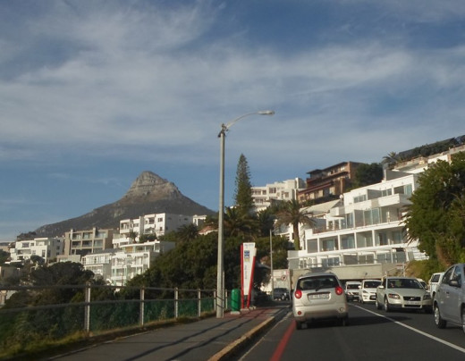 From Llandudno to Sea Point via Clifton, Cape Town, South Africa (Signal Hill in the background)
