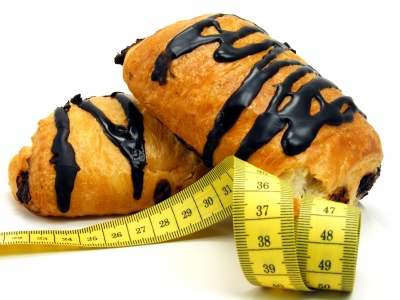 Adding a tape measure to your baking adds a whimsical touch.