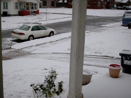 Snowed in...