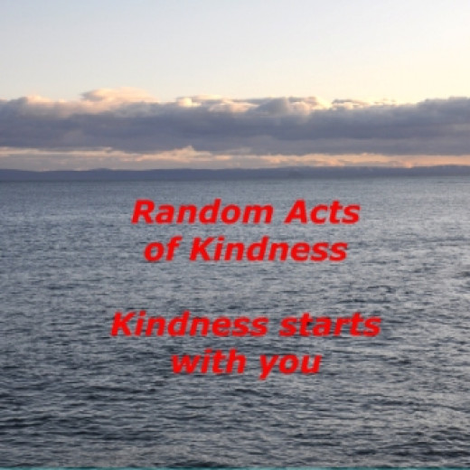 Random Acts of Kindness - Scottish shoreline