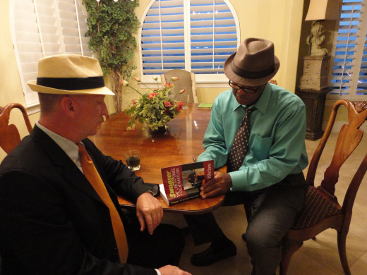 Independent authors don't get many book signing events, but take them when you can.