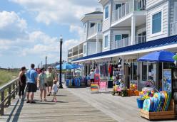 Quaint Boardwalk of Bethany