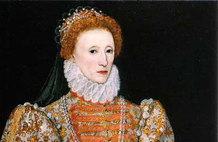 The illegitimate daughter of King Henry VIII and Anne Boleyn
