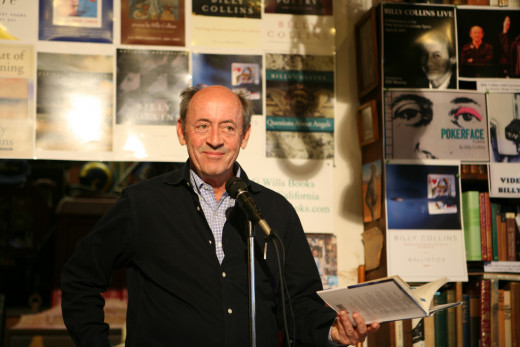 Billy Collins, 2008, in San Diego