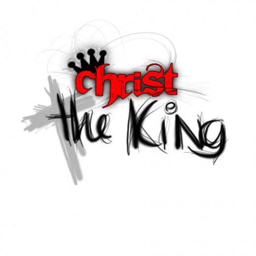 This picture is about Jesus Christ as the King in the Gospel of Matthew.
