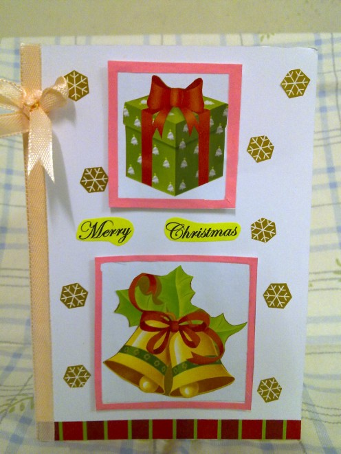 another handmade Christmas Card I did for this year