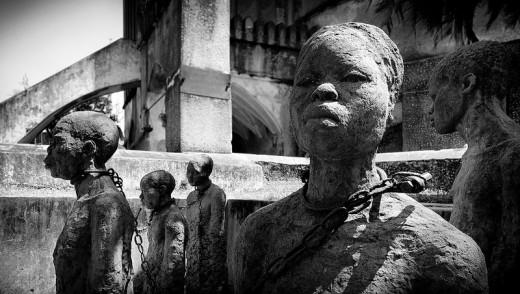 Zanzibar slave pit
