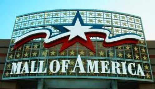 The Mall of America is the largest mall in America and it is located in the state of Minnesota and it has an annual visitor rate of 40 million plus customers.