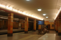 Omonia Station is very colorful!
