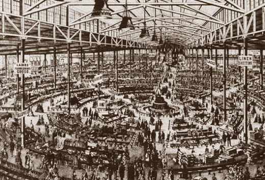 Inside America's first department store 1877