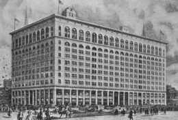 The 1911 new department store
