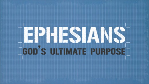 This picture is part of Ephesians because it is God's Ultimate Purpose.