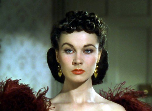 Here's a Bitch Face hopefully everyone can recognize...the original Golden Films Bitch - Scarlett O'Hara as played by Vivienne Leigh.