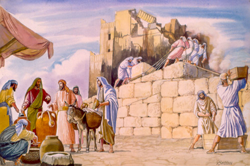 """The temple was completed on the third day of the month Adar, in the sixth year of the reign of King Darius."""