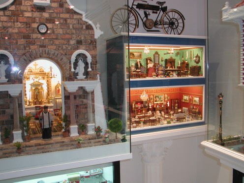 Some Doll's Houses Interiors and a miniature Church