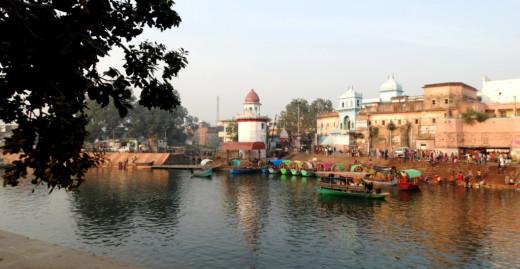 Mandakini near Bharat Ghat
