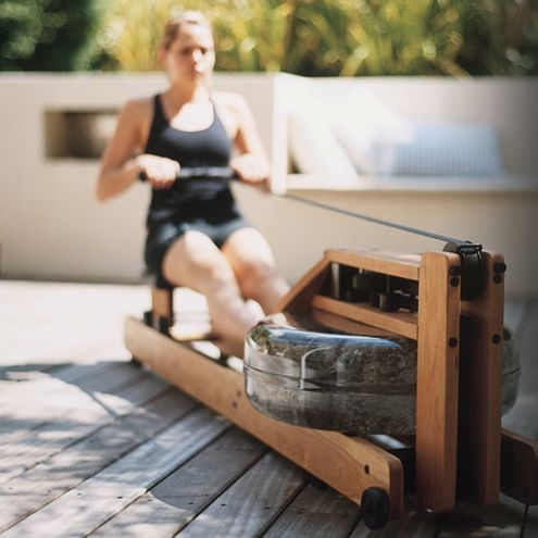 most beautiful rowing machine: water rower classic