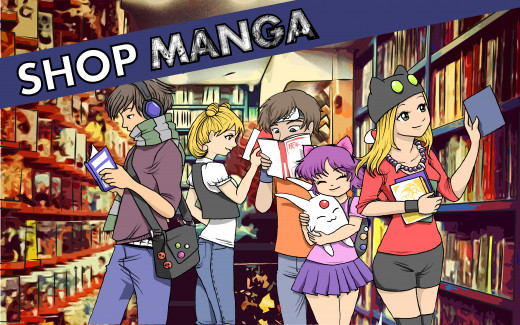 Buy Manga Stuff!