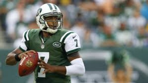 This is Geno Smith, the current, precariously starting quarterback for the New York Jets.