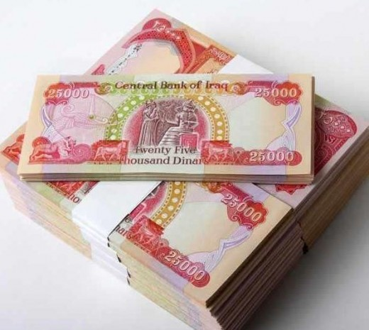 Photo of Iraqi Dinar