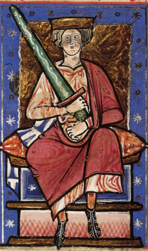 Aethelred 'Unraed' (ill counselled) from being made king at an early age, Aethelred relied heavily on the Witan to guide him. This changed little over a reign of around twenty years and resulted in largely financial pain for his subjects