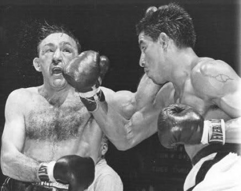 Carmen Basilio won titles in the welterweight and the middleweight weight divisions. Basilio was not great at any one thing but he was good at everything.