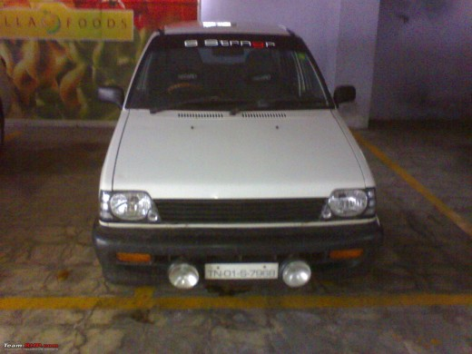 The white colored Maruti 800 was the best seller among other colors.