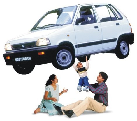 Saying bye bye tata to Maruti 800 the Family car