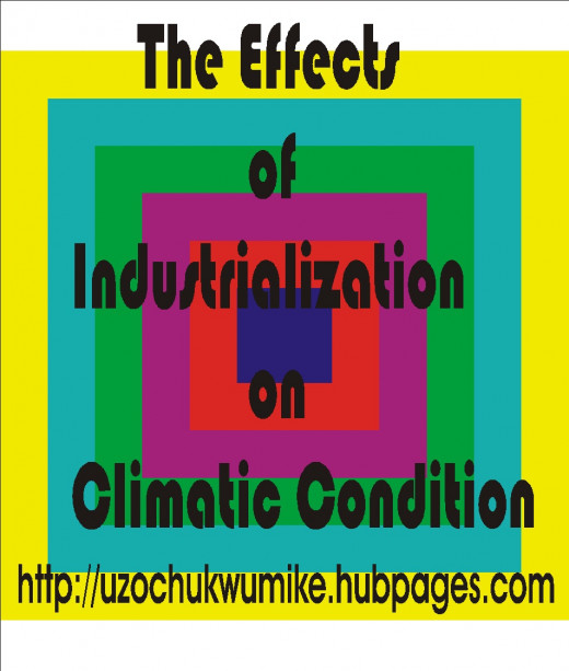 Effects of industrialization on climatic condition
