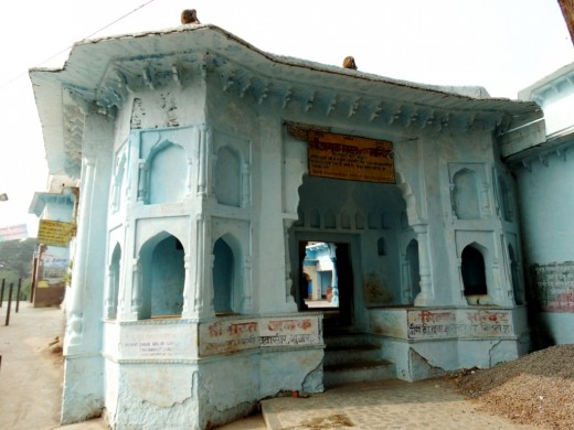 Bharat Milap Charan Paduka temple 1