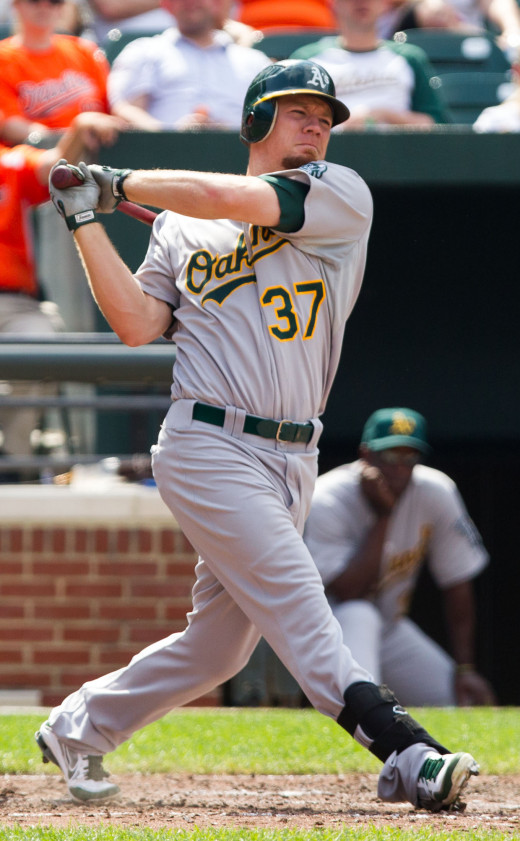 Brandon Moss was one of six All Stars representing the Athletics this year for the American league.