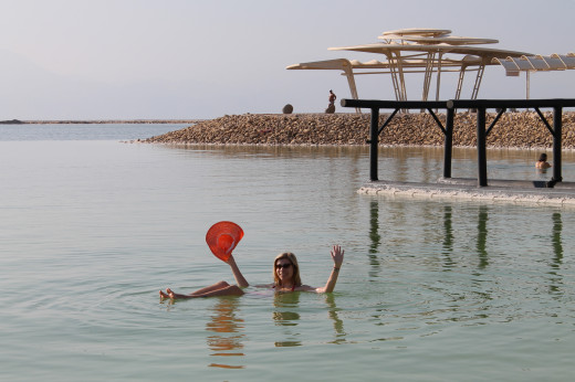 The health benefits of the Dead Sea salt water are well-documented.