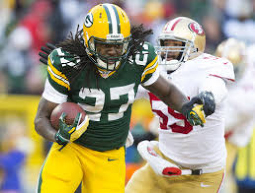 Can Eddie Lacy carry the Packers to the top seed in the NFC playoffs this season?