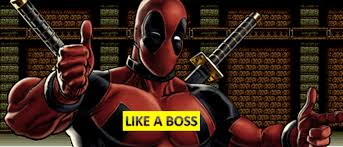 This blog is Deadpool approved!